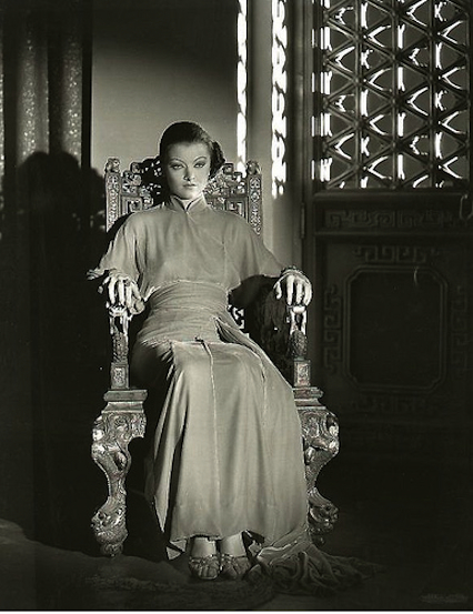 Myrna Loy in Mask of Fu Manchu
