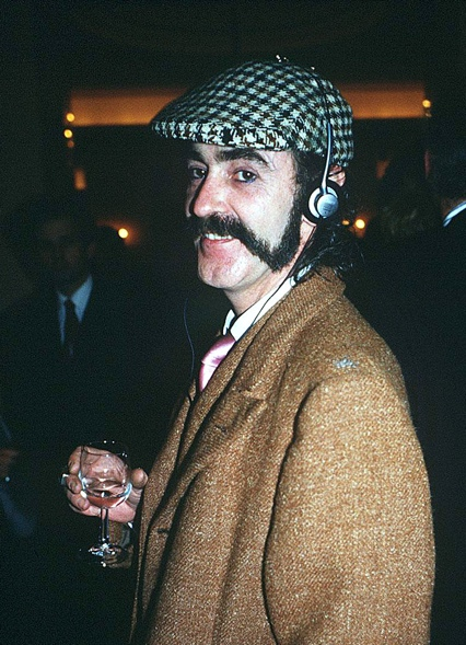 Ossie at Claridges in1985