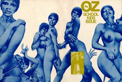 The cover of the infamous schoolkids issue of Oz