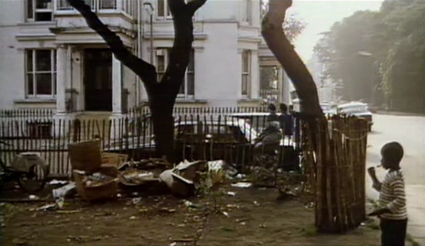 81 Powis Square in 1968  (number 25 in the film)