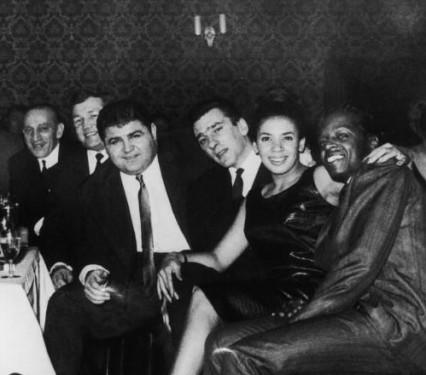 Reggie Kray with Shirley Bassey