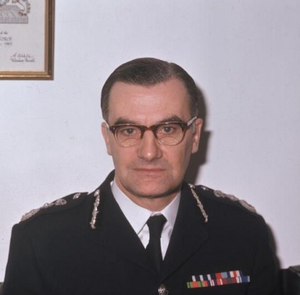 The Metropolitan Police commissioner in 1972