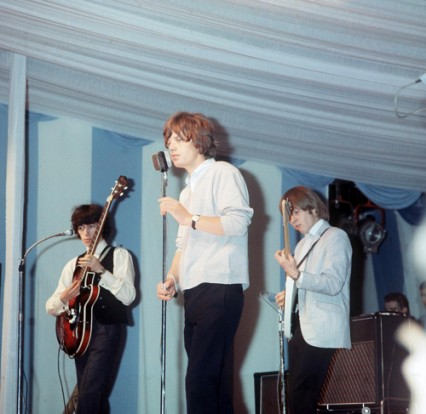 Rolling Stones performing in 1967