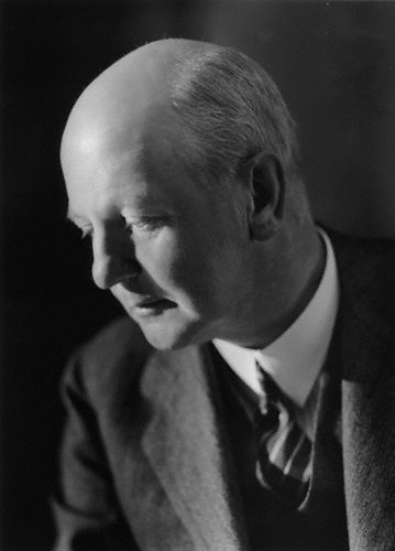 photograph of Sir Giles Scott in 1934