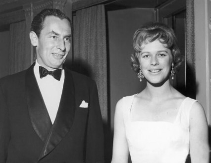 Sir Hugh Fraser and Antonia Fraser in 1959