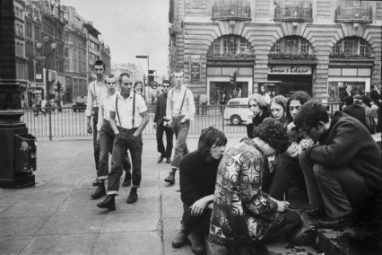 Skinheads off to get their airguns for some hippy hunting