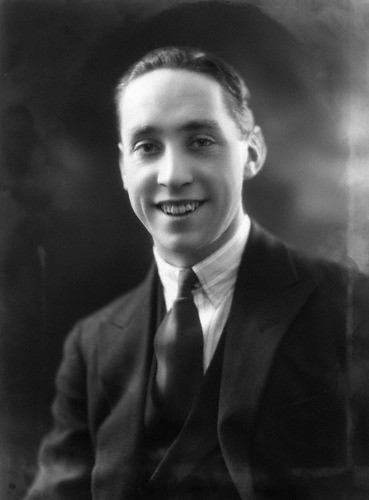 Sonnie Hale in 1926, the year he married Evelyn Laye