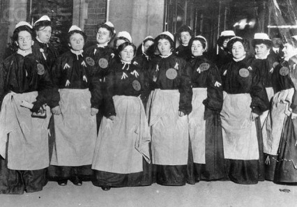 Suffragettes at Holloway prison
