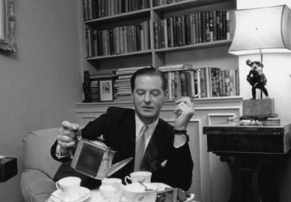 Terence Rattigan in 1955