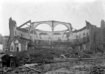 The Ring, now completely destroyed and ready for demolition. March 1941.