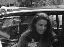 Wanda Sanna at her marriage to Lord Boothby 1967