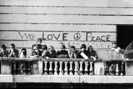 We Love Peace, unless skinheads are involved.